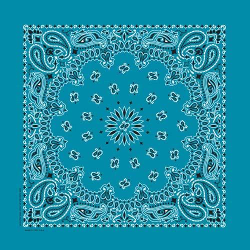 Bandana Bleu Turquoise