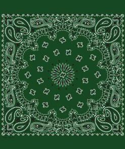 Bandana vert sapin (vert foncé)