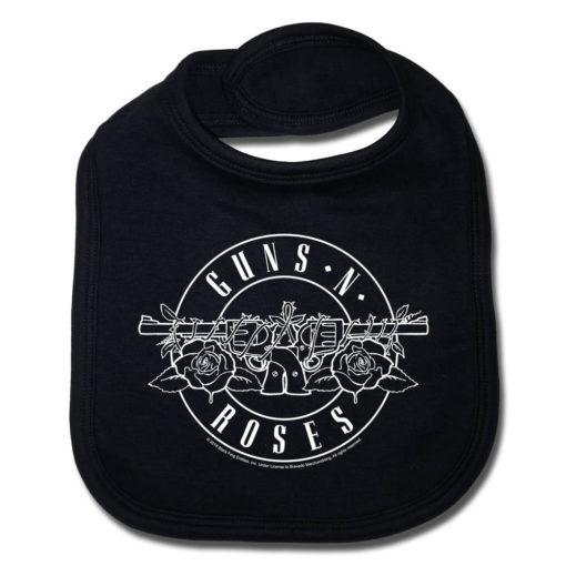 Bavoir Guns 'n Roses pour bébé rock