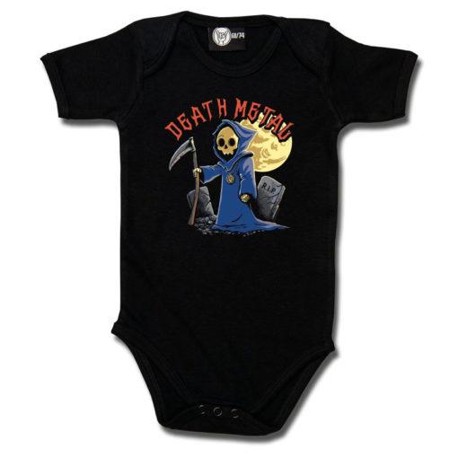 Body bébé Death Metal noir