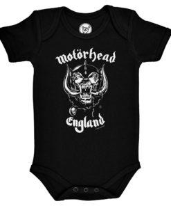 Body bébé Motörhead England noir