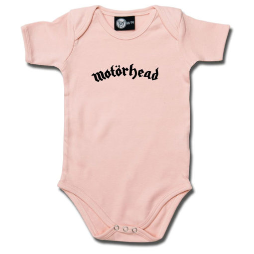 Body bébé Motörhead rose