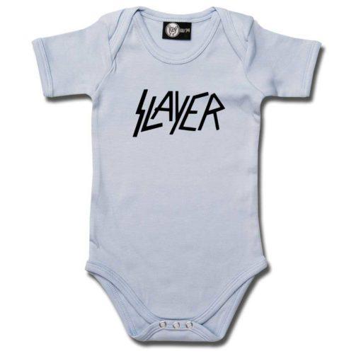 Body bébé Slayer (Logo) bleu