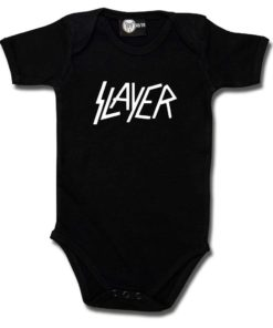 Body bébé Slayer (Logo) noir
