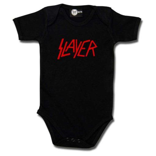 Body bébé Slayer (Logo) noir et rouge