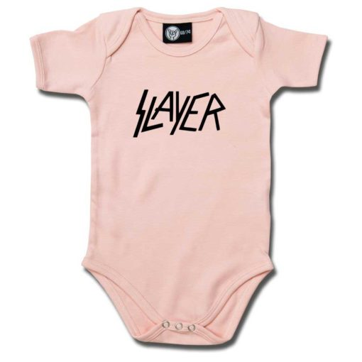 Body bébé Slayer (Logo) rose