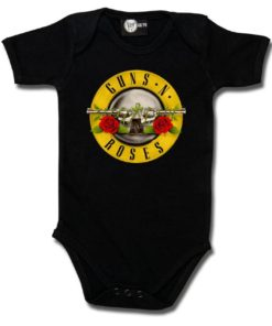 Body bébé Guns'n Roses noir