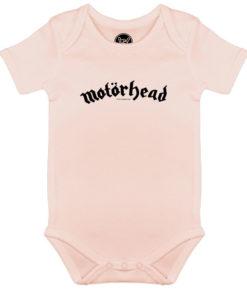 Body Motörhead pour bébé fille rock (rose)