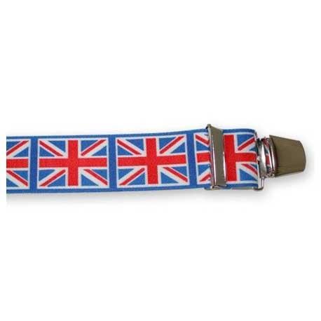 Bretelles Larges Drapeaux Anglais