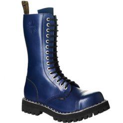 Chaussures coquées bleues 15 trous