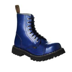 Chaussures coquées bleues royal 8 trous