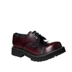 Chaussures coquées bordeaux