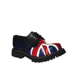 Chaussures coquées drapeau anglais