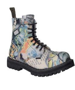 Chaussures coquées grafit 8 trous