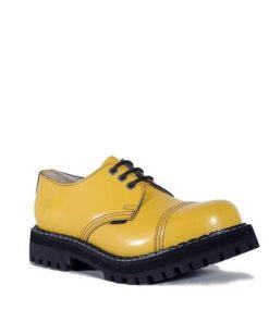 Chaussures coquées jaunes