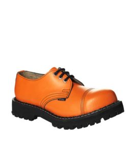 Chaussures coquées oranges
