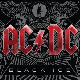 Couverture de l'album Black Ice du groupe AC/DC