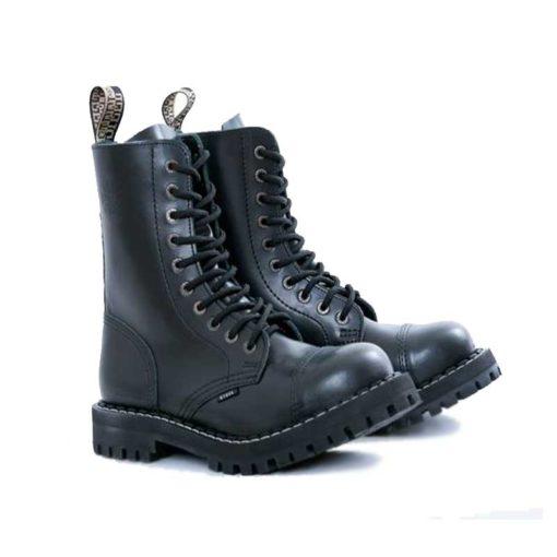 Paire de chaussures coquées noire