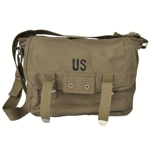 Sac US Army kaki Vintage en toile