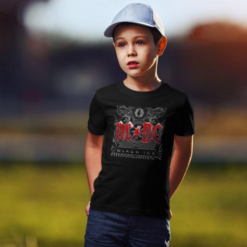 T-shirt AC/DC pour Enfant (noir)