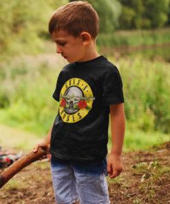 T-shirt enfant Guns 'N Roses noir