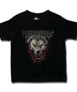 T-shirt enfant POWERWOLF (loup) noir