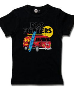 T-shirt Foo Fighters pour fille (noir)