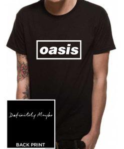T-shirt du groupe de Rock OASIS noir