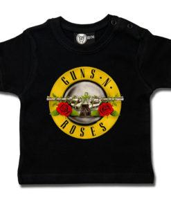 T-shirt Guns 'n Roses pour bébé (noir)