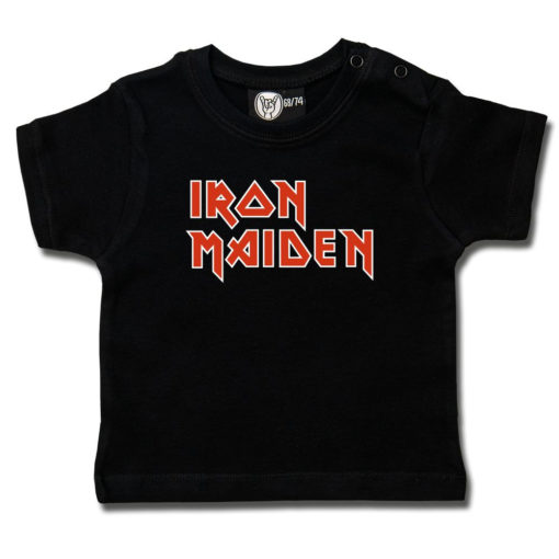 T-shirt bébé Iron Maiden noir