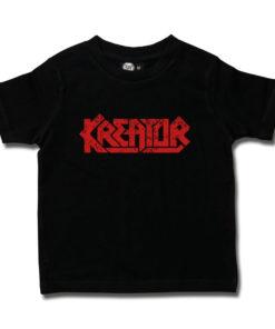 T-shirt Kreator pour enfant (noir et rouge)