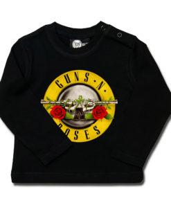 T-shirt Guns'n Roses à manches longues pour bébé