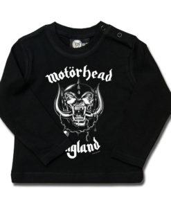 T-shirt Motörhead à manche longue pour bébé (noir)