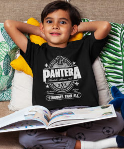 Enfant portant un T-shirt PANTERA