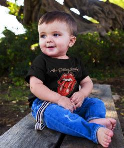 T-shirt Logo Rolling Stones pour bébé