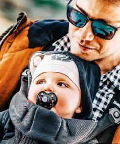 Tétine Métal Kid pour bébé Rock