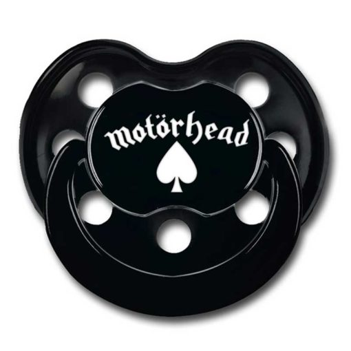 Tétine Motörhead pour bébé rock