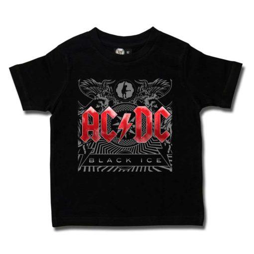 """T-shirt ACDC enfant """"Black ice"""""""