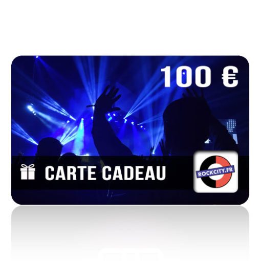 Carte cadeau Rockcity 100 euros