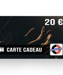 Carte cadeau Rockcity 20 euros