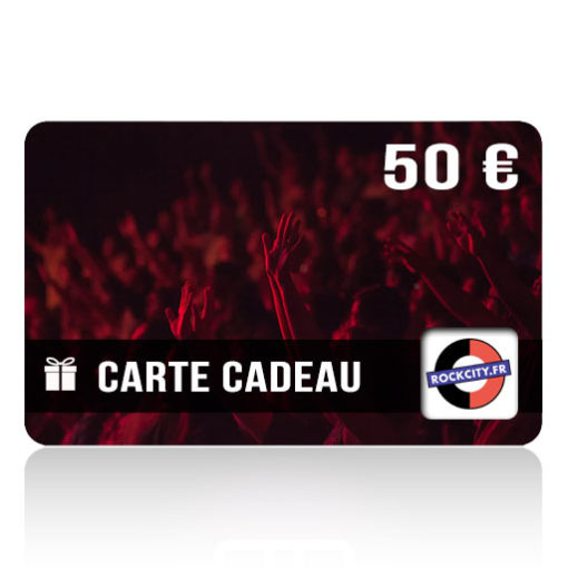 Carte cadeau Rockcity 50 euros