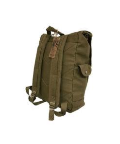 Sac à dos US Army, en toile, couleur vert kaki, type
