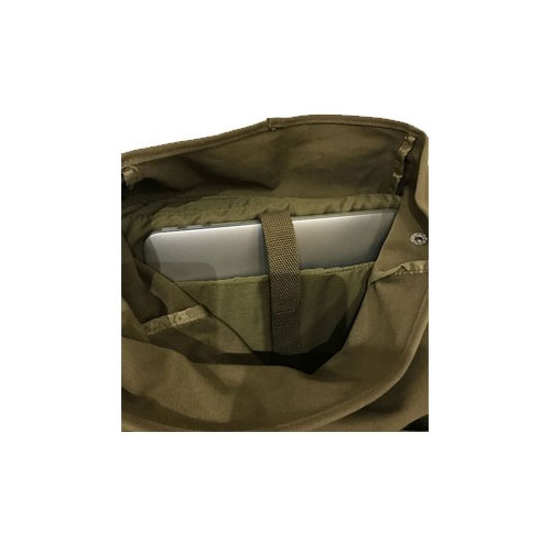 """Sac à dos US Army, en toile, couleur vert kaki, type """"militaire"""" (intérieur)"""