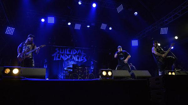 Concert du groupe Suicidal Tendencies au Hellfest 2017