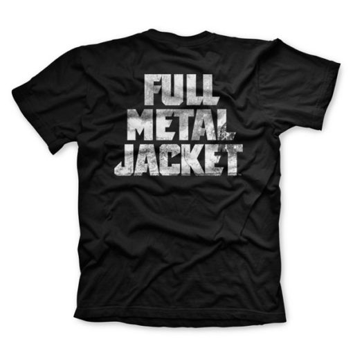 T-shirt FULL METAL JACKET (Dos)