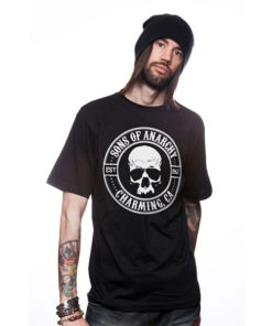 T-shirt Sons of Anarchy noir
