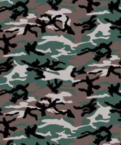 Bandana Camouflage Vert Kaki