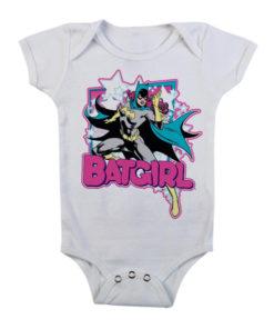 Body Bébé Batgirl de couleur Blanc