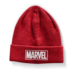Bonnet Marvel Red Logo Beanie de couleur