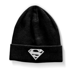 Bonnet Superman Shield Beanie de couleur